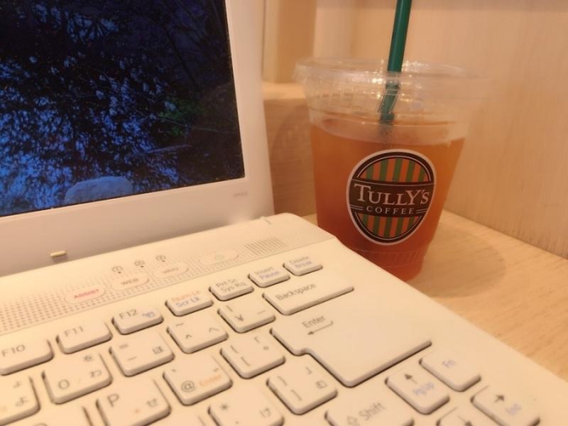 タリーズカフェのWi-Fiは優秀!コンセント完備のお店も多いので仕事に最適!
