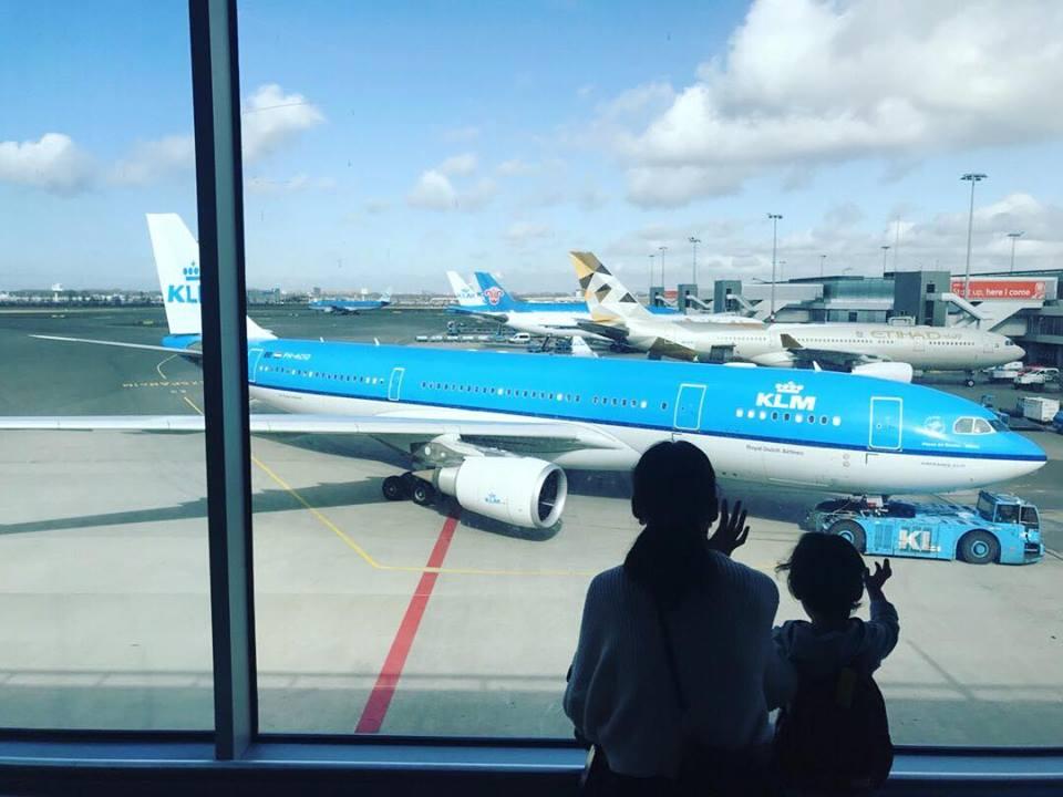 子連れでイタリアへGO!アムステルダム空港での乗り換えは正解!