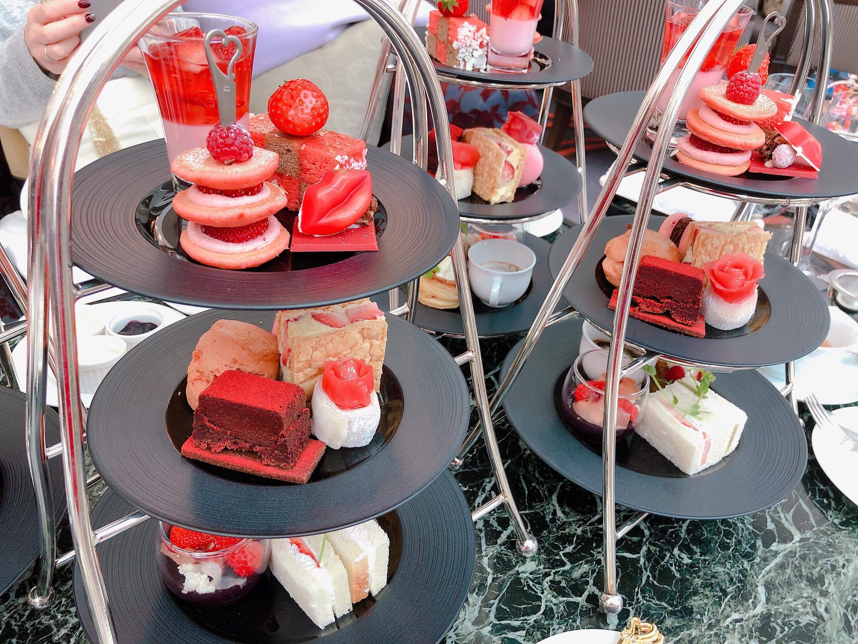 【期間限定イチゴ&チョコレート】ウェスティンホテル大阪のアフタヌーンティーを食べてきたよ!