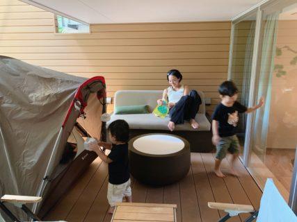 GOOD NATURE HOTELにグランピングを楽しめる部屋が登場!家族4人で泊まってきたのでレポするよ!